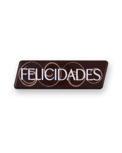 Trapezio in blister in cioccolato fondente