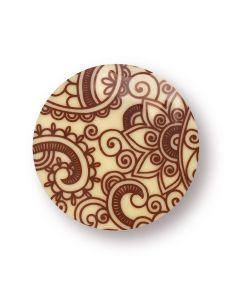 Kit Tondi chablon in cioccolato bianco