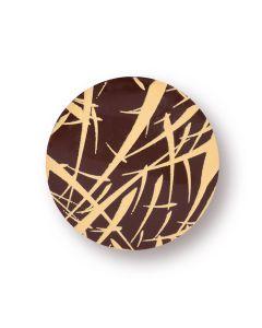 Kit Tondi chablon in cioccolato fondente