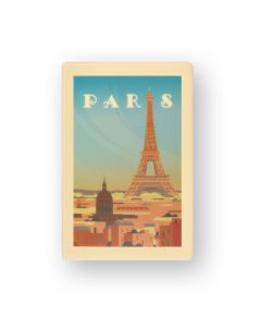 Cartolina Souvenir in cioccolato bianco