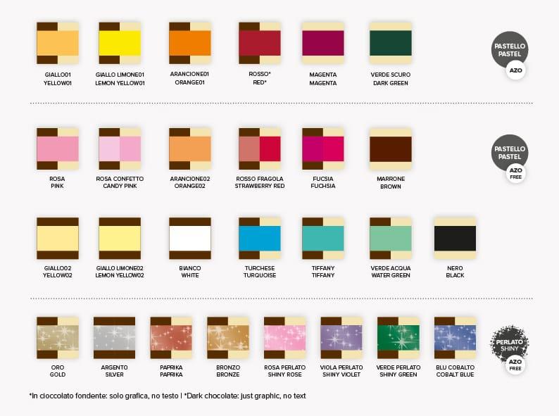colori di stampa